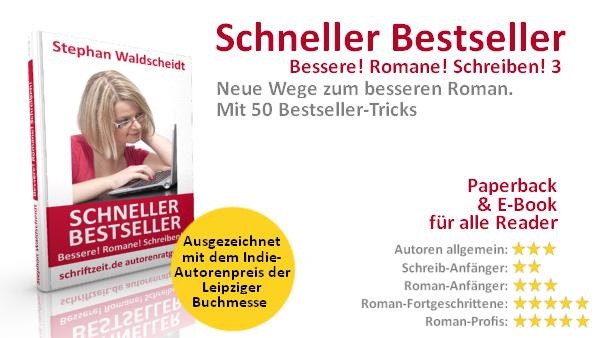 Ausgezeichnet mit dem Indie-Autorenpreis der Leipziger Buchmesse (Bücher für Schriftsteller zum Schreiben von Romanen)